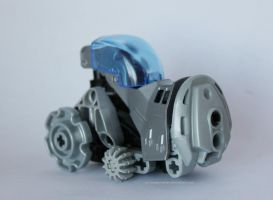 Bionicle MOC: Tractor by Rahiden