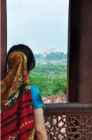 Agra fort by Rosalind-WT