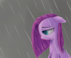 Sad Pinkie by Birchflame23
