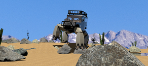 FJ40 HMQOV desert test by ltla9000311