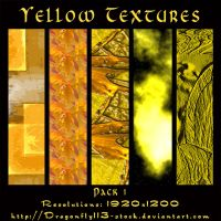 Yellow Textures Pack 1 by BFstock