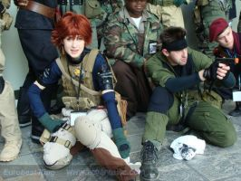 MGS4 cosplay Photoshoot by PaleFunnyGhost