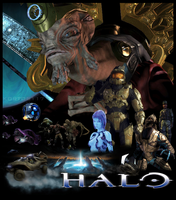 Halo Movie Poster by kortos117