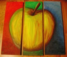 The big apple by Myana