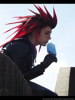 Axel, Reminiscing The Past by NailoSyanodel