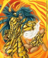 Gemini Gold Saint by Mavrika