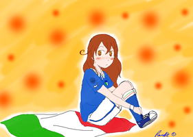 My Hetalia OC for Euro 2012 by Pancake9Andy