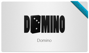 Domino Logo by bisiobisio