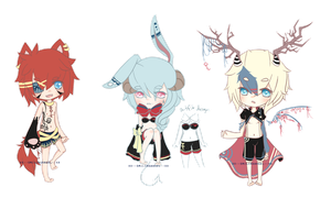 Primary Demons Set Mini Auction {C L O S E D} by chuguri
