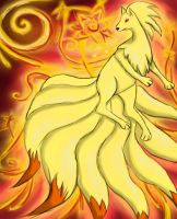 Ninetales by methtical31