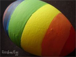 Rainbow Egg II by Judee
