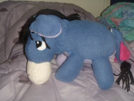 Eeyore doll by Sabretooth-Fox