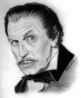 Vincent Price portrait by Skylark6277