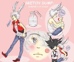 Sketch Dump: Almond_RP by S-Neo