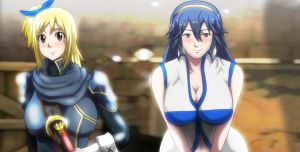 Fairy Tail Fire Emblem Lucy Lucina Crossover Req by Mr123GOKU123
