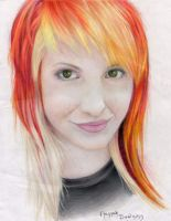 Hayley Williams by Hansura