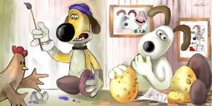 Crazy eggs by altergromit