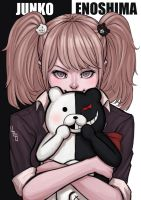 Junko Enoshima: Ultimate Despair by PATVIT