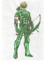 Green Arrow by lny