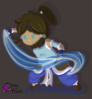 Korra by Pen-and-PaperPaladin