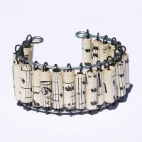 Paper Bead Jewelry- Bracelet by Tanith-Rohe