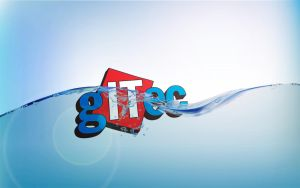 Gitec.ge 3D loogo With Water by giozaga