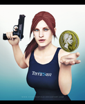 Claire Redfield x Coin by VickyxRedfield
