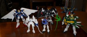 Wing Gundam Custom Collection by pyrogina