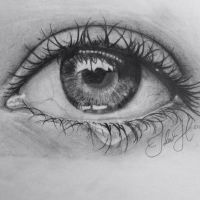 Eye drawing by idaaz