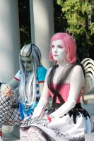 C.A. Cupid and Frankie Stein Home Ick Cosplay by smashworks
