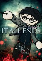 Deathly Hallows: Harry Potter by NickyToons