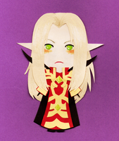 Kael'thas Paperchild by bird-eyes