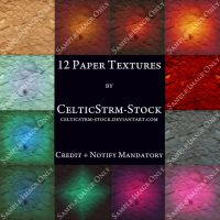 Paper Textures by CelticStrm-Stock by CelticStrm-Stock