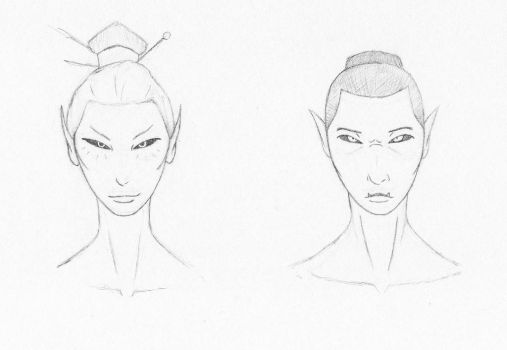 Morrowind Style Heads Attempt by SGT-Conley