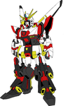 Air Raid Gundam - Colored Concept by EX388