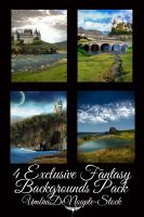 4 Exclusive Fantasy Pack by UmbraDeNoapte-Stock