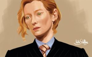 Tilda Swinton - Gabriel by KSNC