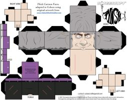Mike Gordon Phish Cubee by etchings13