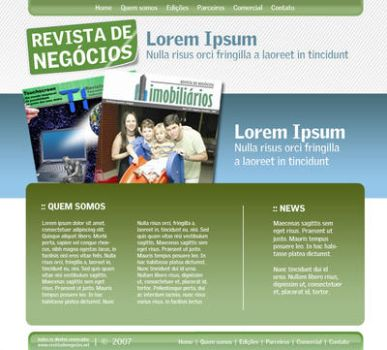 web revista by wdesigner