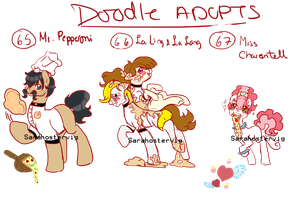 Doodle pony adopts adopts 23 CLOSED by Sarahostervig