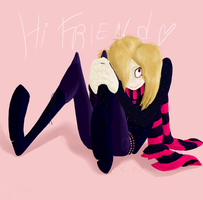 Hi Friend by Rezllen