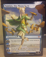 Tamiyo, the Moon Sage Extension by diemwing