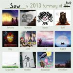 2013 Summary by sow-ay