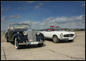 old cars by Lecosa