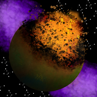 The fall of Planet Arcturus by Argentium-47