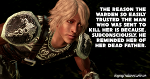 Dragon Age Headcanon: Why the Warden Trusts Zevran by ParisWriter