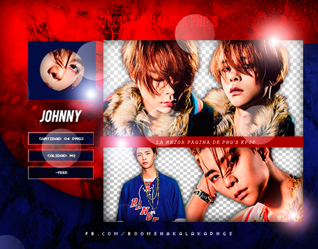 +Pack Png NCT|Johnny 02 by Pohminit