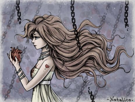 To live without a heart (colored) by natalico