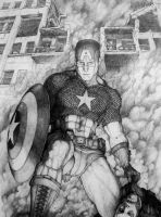 Captain America the winner by Meador