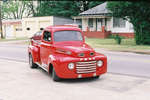 1948 Ford Truck by ChristopherSacry